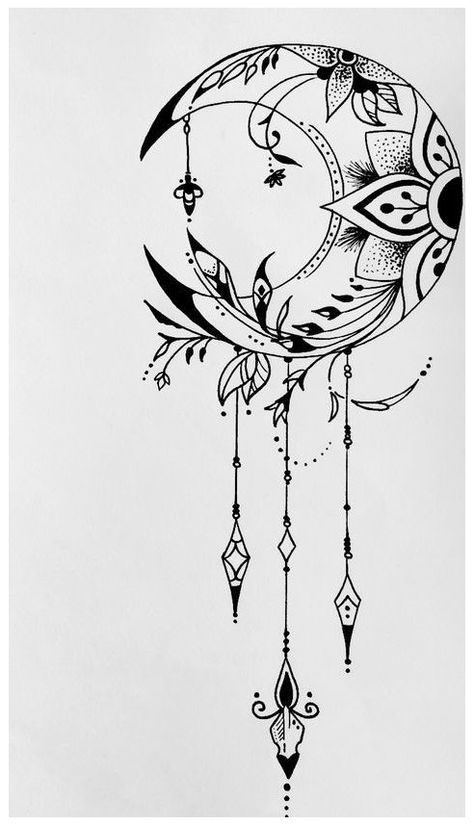 Doodle Art Drawing, Mandala Drawing, Cool Art Drawings, Pencil Art Drawings, Art Drawings Sketches, Drawings About Love, Cool Drawing Designs, Mandala Art, Lotus Drawing