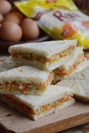 Blog Diah Didi Berisi Resep Masakan Praktis Yang Mudah Dipraktekkan Di Rumah Resep Sandwich Resep Masakan Makanan