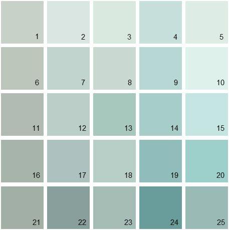 Benjamin Moore Blue House Paint Colors Palette Quiet - Benjamin moore blue paint color chart