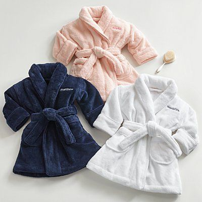 Baby Dressing Gown//Infants Fleece Robe with Hood /& Stars Boys//Girls