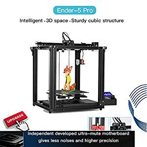 2019 Official Best Creality Ender 5 Pro 3d Printer Complete Review Guide On Trend Gear Printer 3d Printer Brand Power