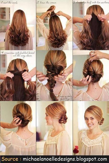 Simple Trendy Hairstyles Stepbystepeasyhairstyles Hair Styles Easy Hairstyles Long Hair Styles