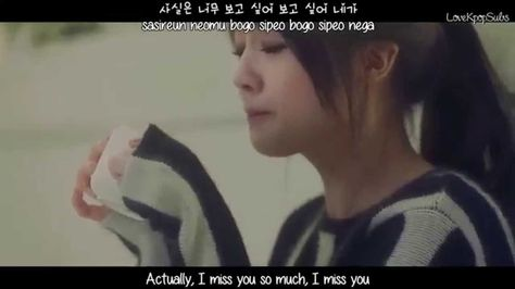 girl's day-I miss u(subs)