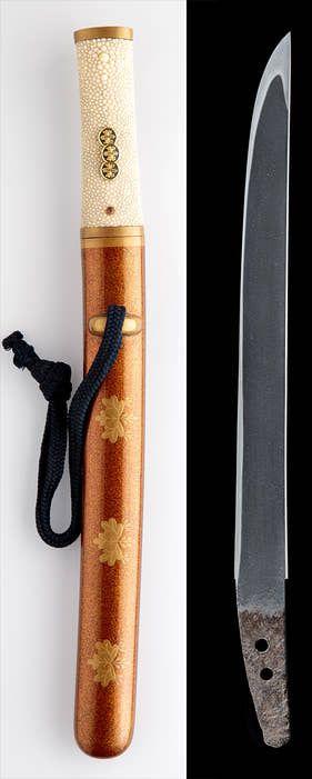 Juyo Chikuzen Samonji Tanto With Images Samurai Swords