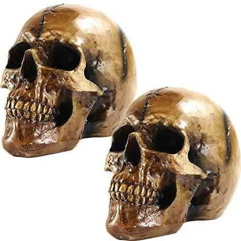 Seraphic Halloween Skulls - 2 / Brown