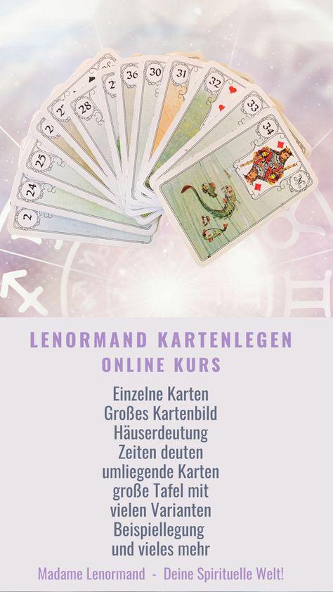 12 Kartenlegen lernen-Ideen | kartenlegen lernen, karten