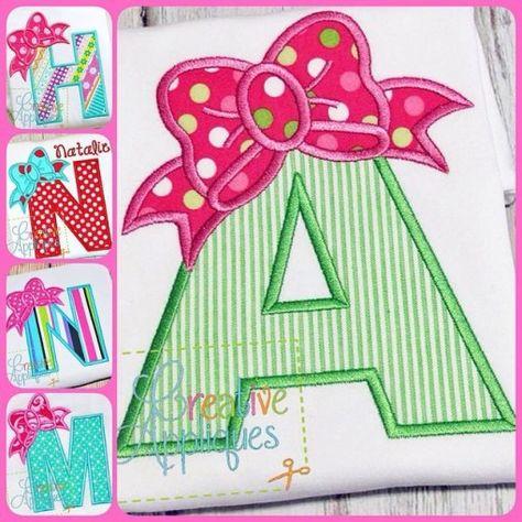 bow-alphabet-applique-set, CA