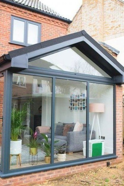 Our Modern Conservatory Extension Before And After Home Renovation Project 5 Mummy Daddy Me In 2020 Modern Conservatory Conservatory Extension Home Renovation