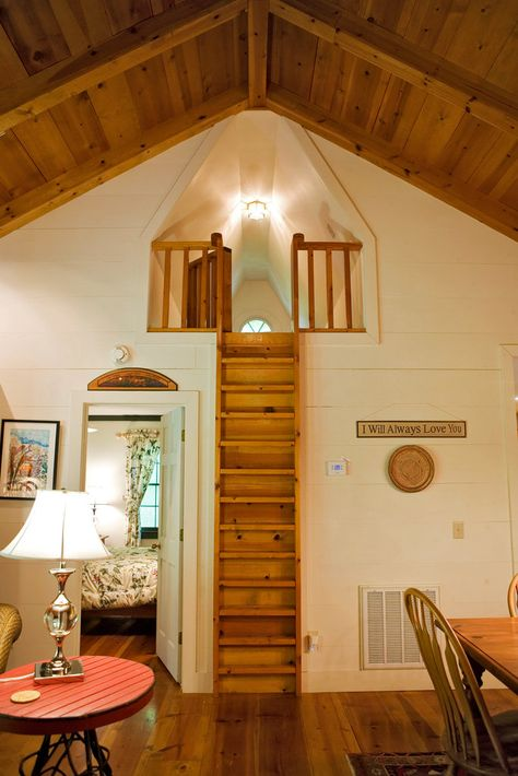 Lofted sleeping nooks. My daughter would be in heaven