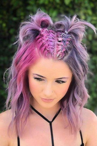 Beautiful Two Braids Hairstyles Picture 1 Rave Hair Easy Summer Hairstyles Braided Hairstyles