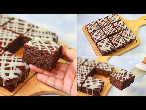 119 Chocolate Brownie Cake Eggless Without Oven Yummy