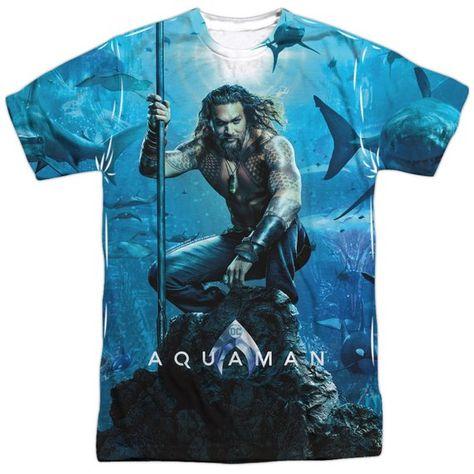 Jason Momoa T Shirt, Aquaman Poster T Shirt, Best Gift for