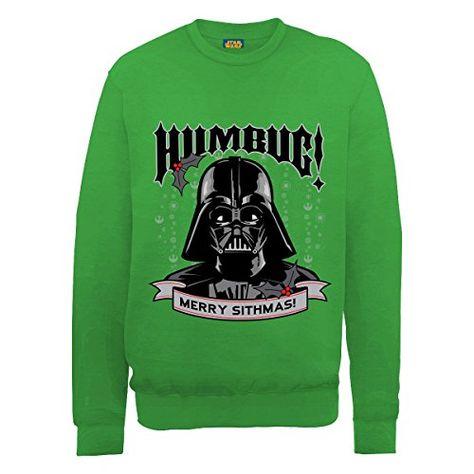 Para Hombre Star Wars Darth Vader Vintage Sudadera