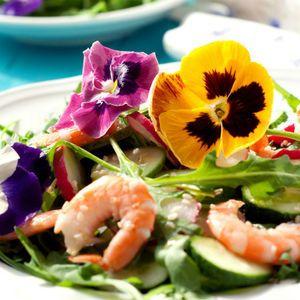 Kwiaty Jadalne Warto Je Posadzic W Ogrodzie Food Meat Shrimp