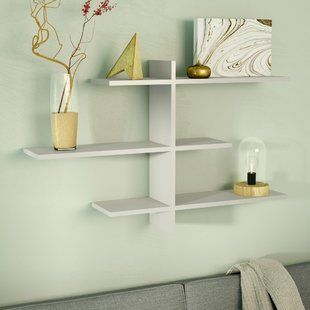 Modern Display And Floating Shelves Allmodern Floating Shelves Shelves Display Shelves