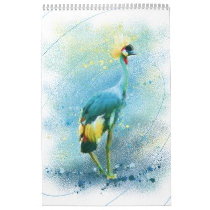 Space Birds Calendar Zazzle Com Birds Cockatoo White Egret
