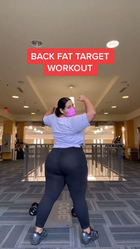 Back Fat Workout. Full Body Workout