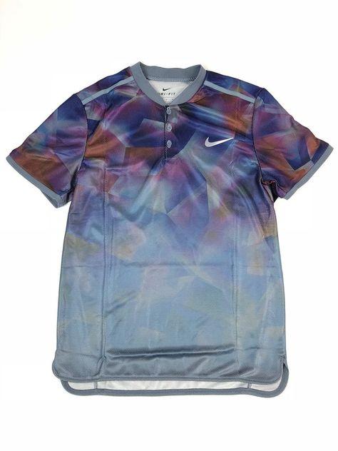 Court Tennis Polo Nike Mens Sz Dry M Advantage Slim Fit v8Nn0Owm