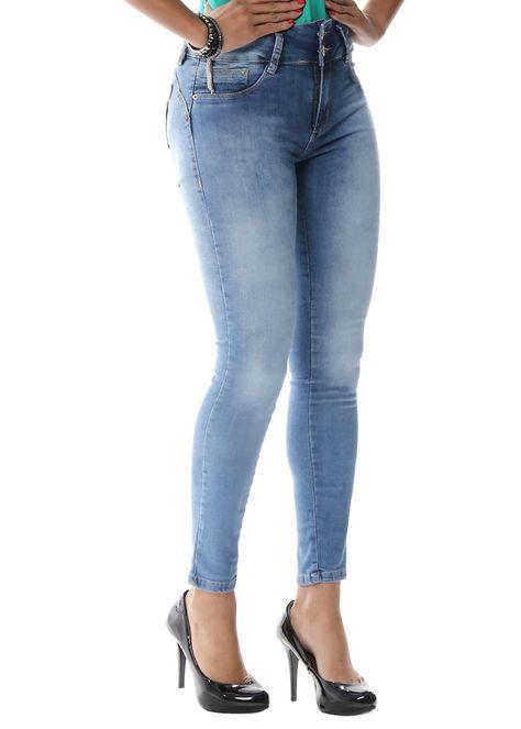29e80308e Calça Jeans Sawary Cigarrete Modela e Levanta Bumbum Azul   Products