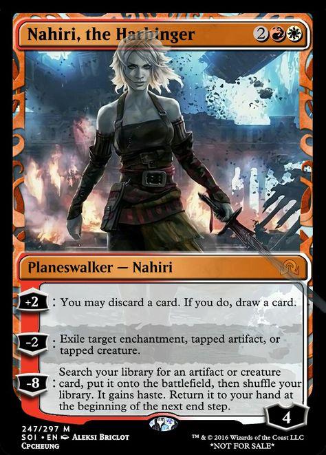 the Harbinger NM-Mint English 1x MTG Shadows Over Innistrad Nahiri