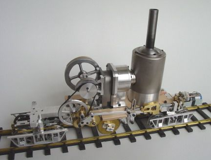 A Class A Climax Andy Ross November 2005 Stirling Engine Stirling Climax
