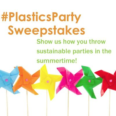 Show us your #PlasticsParty spread for a chance to win! http://bit.ly/PlasticsPartyWin