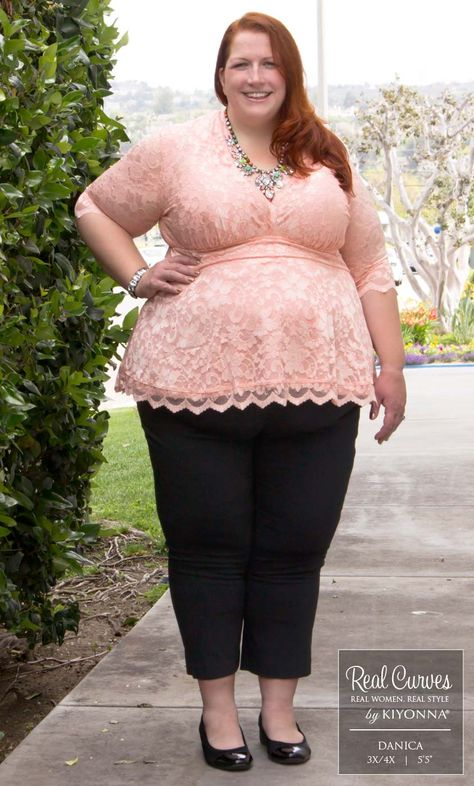 Real Curves for Linden Lace Top