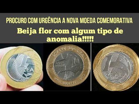 Nova Moeda De Um Real Beija Flor Bifacial E Oferecida Por 15 Mil