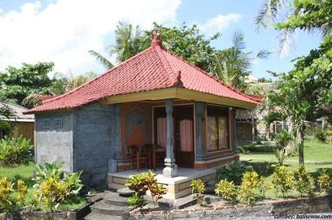 30 Gambar Desain Rumah Adat Bali Tradisional Dan Modern Di ...