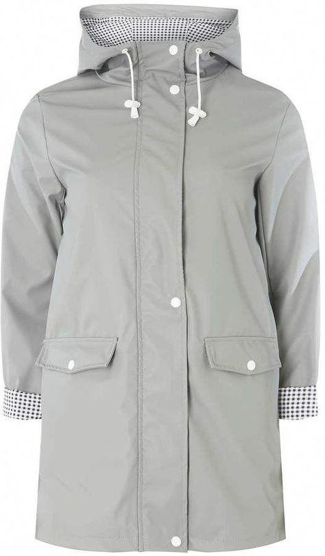 a few days away shopping top-rated newest Dorothy Perkins Grey Button Front Raincoat #raincoats ...