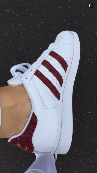 shoes adidas superstar snake red fall
