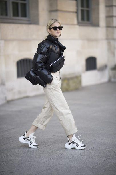 Style tips: how to match sneakers with style (The Blonde Salad)