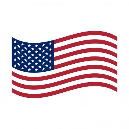 Waving Flag Usa United States Of America Flag Vector Illustration Sto Affiliate Usa United Waving Flag Ad In 2020 Flag Emoji America Flag