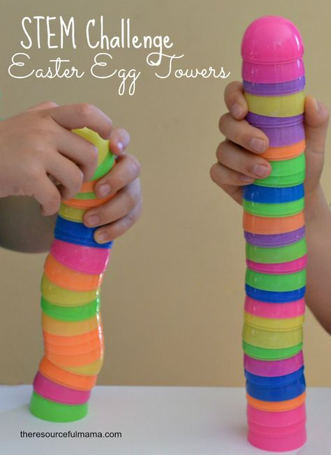 Easter Egg Towers