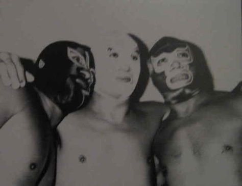 PAST - Lucha Libre Masks  A popular part of a Mexican wrestler's persona is his or her mascara, or lucha libre mask. The masks play an important part of the storyline, and can also provide some anonymity in a country enthralled by the sport of Mexican wrestling. ( Lucha, M, 2009)