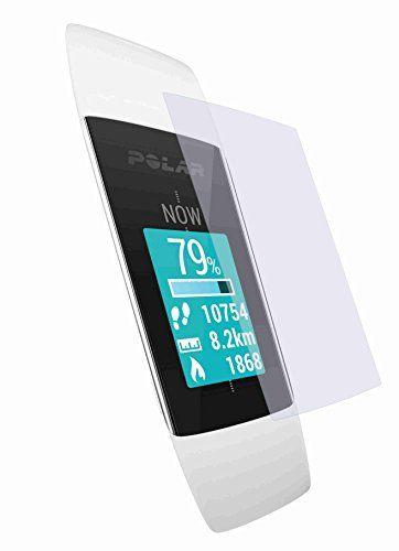 2 Stück GEHÄRTETE ANTIREFLEX Displayschutzfolie für POLAR Activity Tracker A360 Bildschirmschutzfolie - BEWUSST KLEINER GEHALTEN WEGEN GEWÖLBTEM DISPLAY - http://on-line-kaufen.de/4protec/polar-activity-tracker-a360-2x-premium-passend-10