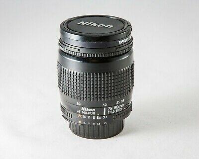 Ad Nikon Af Nikkor 28 80mm F 3 5 5 6 D 35mm Slr Zoom Lens W Manual Tested Nice In 2020 Zoom Lens Nikon Lens