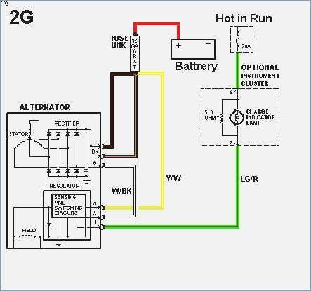 corolla alternator wiring diagram  alternator diagram