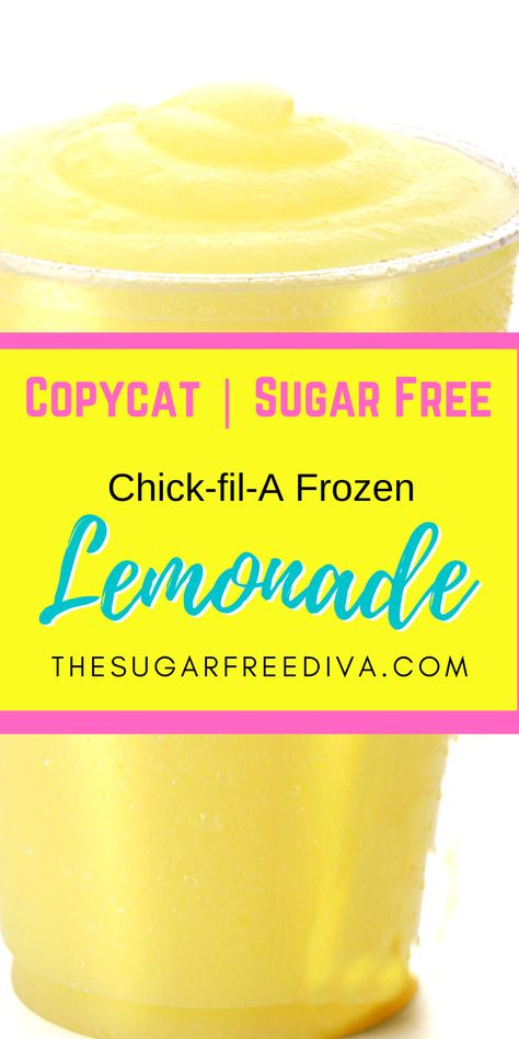 Diabetic Desserts, Sugar Free Desserts, Sugar Free Recipes, Low Carb Desserts, Low Carb Recipes, Diabetic Recipes, Dessert Recipes, Frozen Lemonade, Frozen Drinks