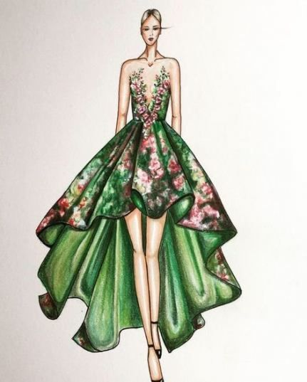 Fashion Design Drawings Sketches Artists 31 Ideas Fashion Drawing Dresses Fashion Illustration Dresses Fashion Design Drawings