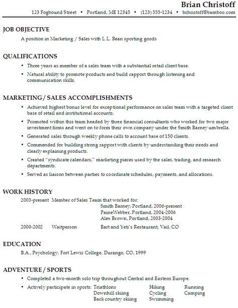 Sample Resume For A Restaurant Job - http\/\/wwwresumecareerinfo - restaurant resume