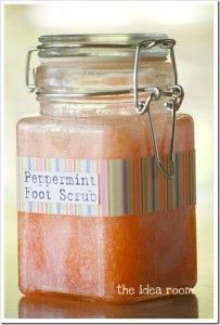 Pampering Peppermint Foot Scrub Recipe -  Click The Image To Get The Recipe And To Join Us On Facebook For More Great Ideas!