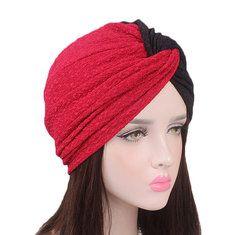 021af776 Women Flower Cotton Warm Beanies Cap Muslim Casual Hat - Banggood Mobile Turban  Hat, Vintage