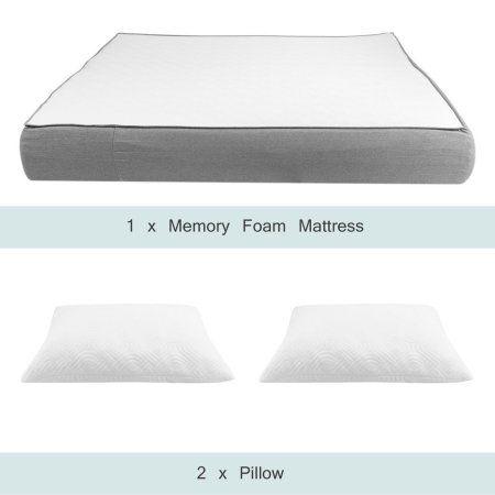12 Inch Queen Size Memory Foam Mattress Pad Ergonomic Design