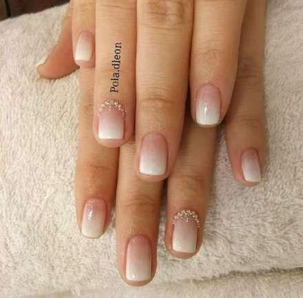 Manicure Novias Degrade 26 Best Ideas Manicure Minimal Manicure French Nails