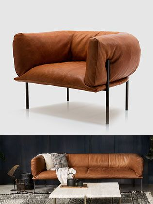 Molinari Fauteuil Leer.Spence Lyda Molinari Living Rondo Sofa Lounge Chair By Lucy
