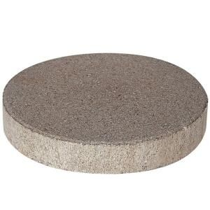 Pavestone 12 In X 12 In X 1 77 In Pewter Round Concrete Step