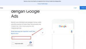 Cara Mendapatkan Dan Masukan Kode Promosi Kupon Google Ads 450rb Gratis Di 2020 Kupon Periklanan Penganggaran