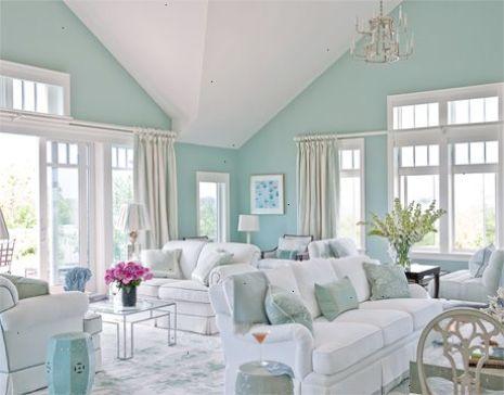 Spectacular Beach House Interiors Pinterest View Blue Living Room Coastal Living Rooms Blue Paint Living Room