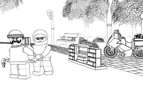60048 police dog unit lego coloring sheets pinterest
